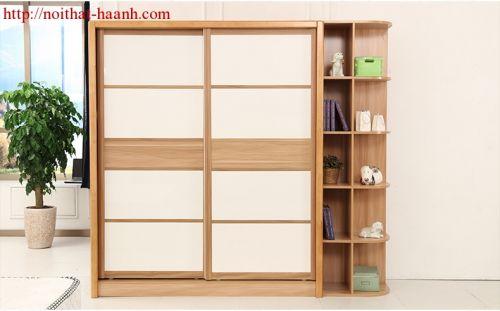 Tủ áo gỗ công nghiệp veneer TAH022