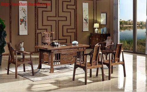 Bàn ghế phòng trà BGG022