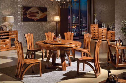 Bàn ghế ăn gỗ tự nhiên cao cấp BGA 039