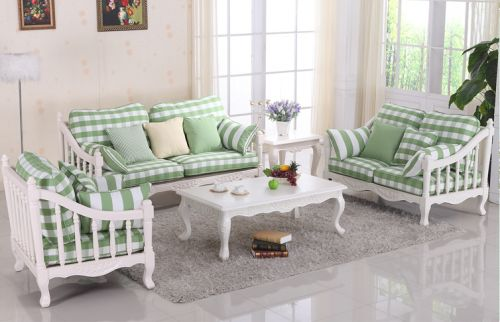 Sofa gỗ tự nhiên song tiện chất lượng PKCD 011