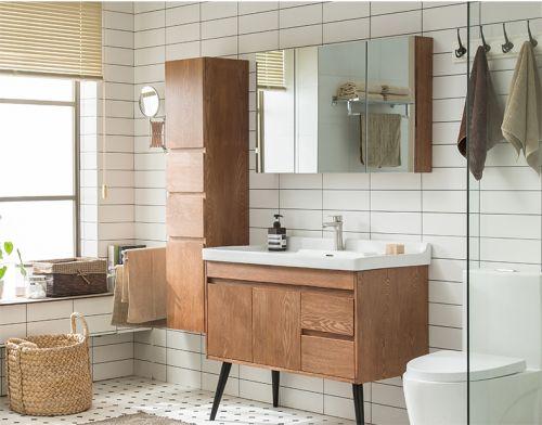 Tủ lavabo phòng tắm hiện đại. LVB 001