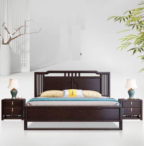 Giường gỗ phòng ngủ cao cấp tại Hà Nội. GNH 036