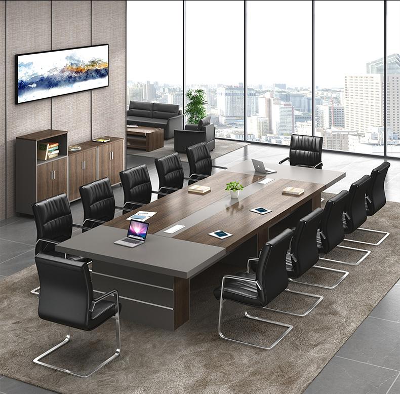 Bàn họp gỗ công nghiệp phong cách cho doanh nghiệp. PHH 017