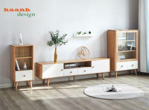 Kệ ti vi phòng khách sản phẩm thiết kế và sản xuất. KTK 002