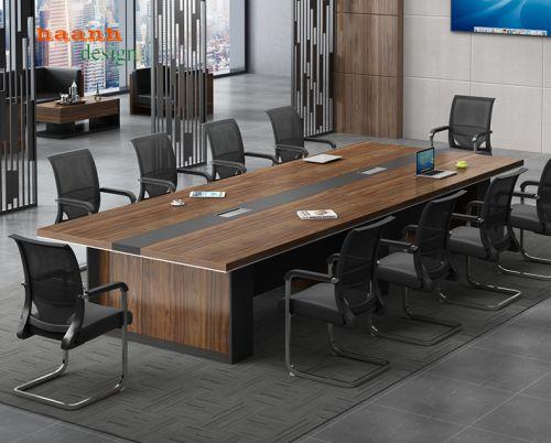 Bàn họp gỗ công nghiệp chất lượng và chuyên nghiệp.PHH 030