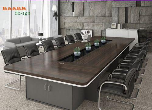 Bàn họp gỗ công nghiệp, sản phẩm hiện đại chuyên nghiệp PHH 034