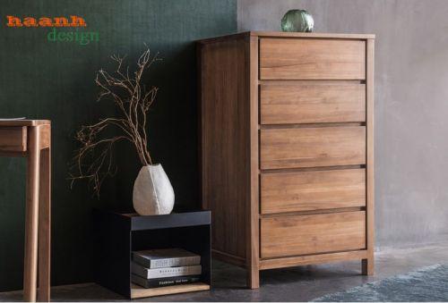 Tủ ngăn kéo gỗ óc chó chất lượng cao. TKN 011