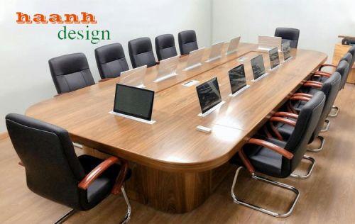 Bàn họp gỗ công nghiệp cho văn phòng hiện đại. PHH 035