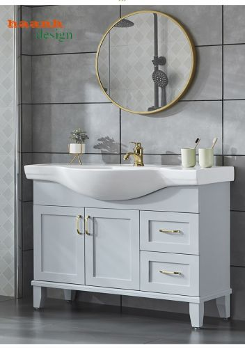 Tủ Lavabo phòng tắm hiện đại trẻ trung.LVB 005