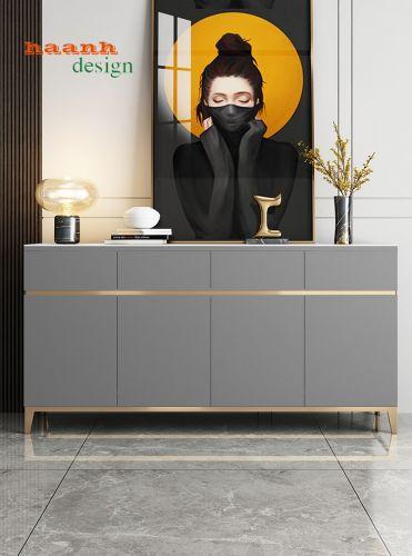 Tủ giày gỗ công nghiệp vật liệu mới phong cách mới. TGD 012