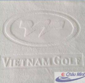 Khăn Golf Việt Nam dệt logo