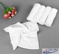 Khăn tay cotton 34x34cm 60gr dùng cho khách sạn (Hàng cao cấp)