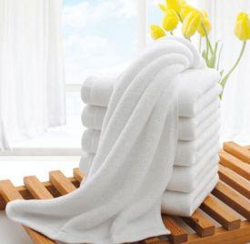 Khăn mặt cotton 34x70cm 120gr dùng trong khách sạn (Hàng cao cấp).