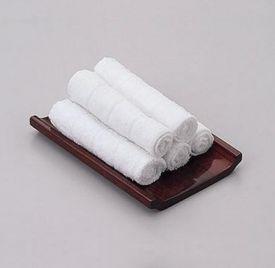 Khăn tay Cotton 28x28cm 22gram dùng trong Khách sạn
