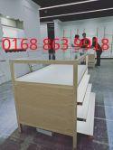 Tủ gỗ bày mỹ phẩm, thắt lưng da, phụ kiện. TG08