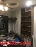 Tủ gỗ trưng bày sách, đồ dùng