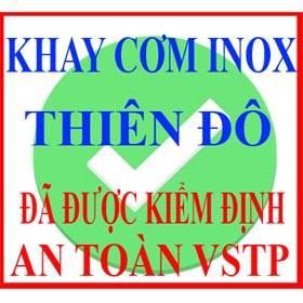 Khay cơm inox Thiên Đô sản xuất-nhập khẩu và phân phối trực tiếp