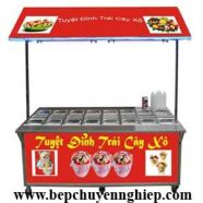Xe bán trái cây xô tự chọn 32 khay TC-6