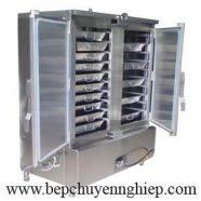 Tủ cơm công nghiệp dùng ga 2 cánh