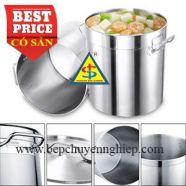 Xoong inox 304 nấu bếp từ 21 lít