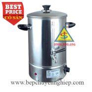 Bình nấu nước công nghiệp bằng điện 30 lít có vòi