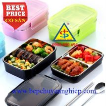 Khay cơm inox 304 giữ nhiệt - an toàn thực phẩm