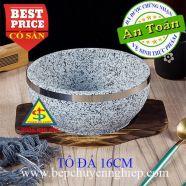 Thố đá nóng Hàn Quốc làm cơm trộn - phở D16cm