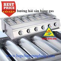 Bếp nướng hải sản chuyên nghiệp dùng gas