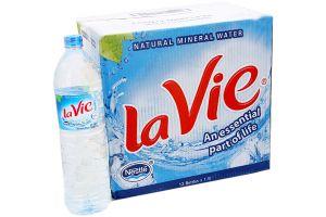 Nước khoáng Lavie 1,5 lít