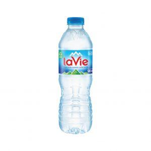 Thùng nước khoáng Lavie 500 ml