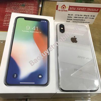 iPHONE X BẢN 256GB LL/A MỚI 100% ( ĐEN/TRẮNG ) CHÍNH HÃNG BẢN QUỐC TẾ