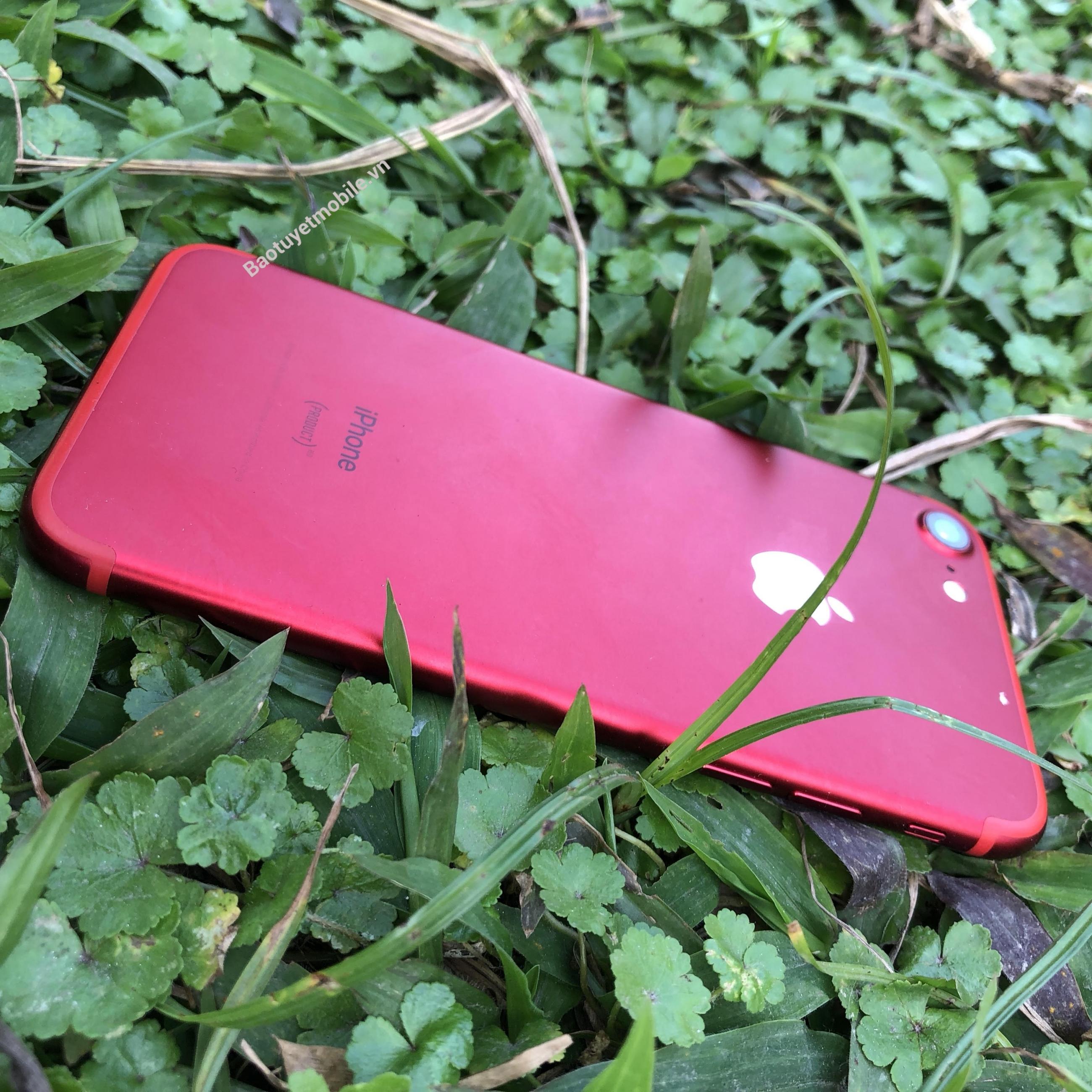 iphone 7 đỏ mặt sau