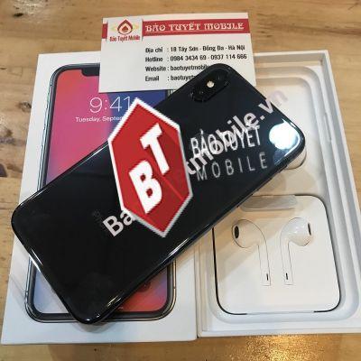 iPHONE X BẢN 256GB CŨ 95%, CÒN MỚI 99% ( ĐEN/TRẮNG ) CHÍNH HÃNG BẢN QUỐC TẾ
