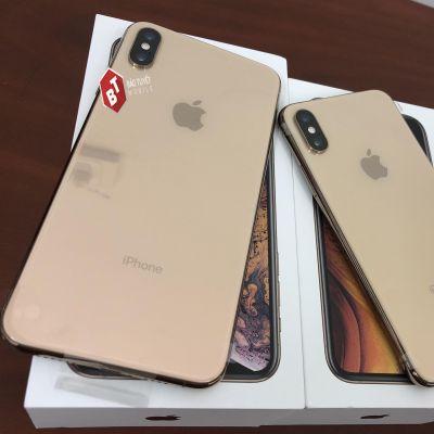 IPHONE XS MAX 64GB - 256GB MỚI 100% KH/A (1 SIM VẬT LÝ)  NGUYÊN SEAL ĐEN/TRẮNG/VÀNG