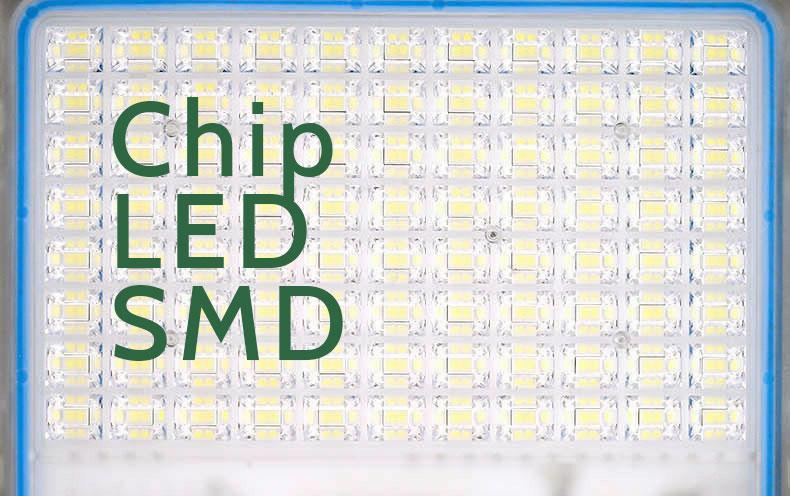 Chip led den pha nang luong mat troi 200W