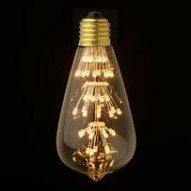 Bóng Led Edison Trái Bơ Sao Rơi
