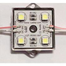 Led Module 5050 4bóng inox