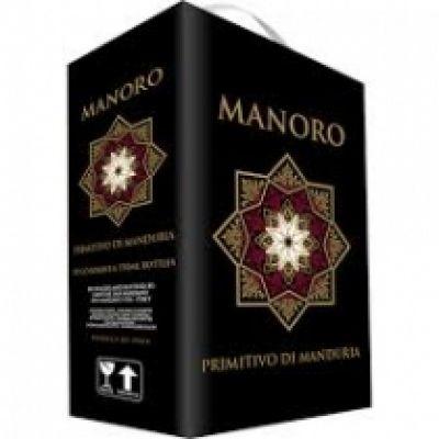 Rượu vang Bịch Manoro Negroamaro 3 lít