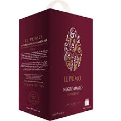 Rượu Vang Bịch Il Pumo Negroamaro 3 Lít