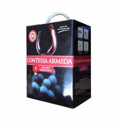 Rượu Vang Bịch Contessa Armida - Vang ý ngọt 3lit