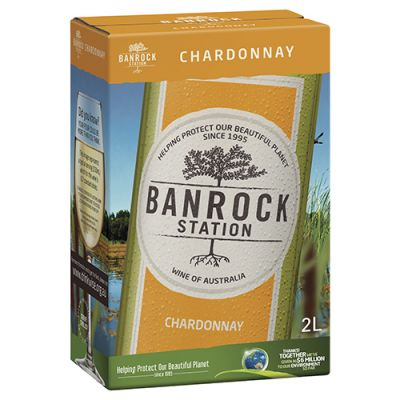 Rượu Vang Úc Banrock Station Chardonnay (bịch)