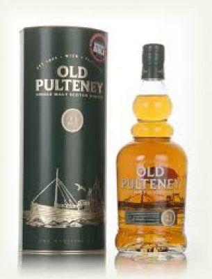 Single Malt whisky Old Pulteney 21Yo