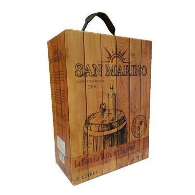 Rượu vang Chile San Marino bịch 3 lít