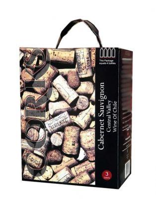 Vang Bịch CORKS Wine Cabernet sauvinon 3L