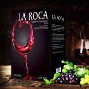 Rượu vang Chile La roca (bịch 3 lít – 5 lít) Cabernet Sauvignon