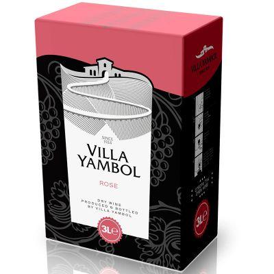 Rượu vang Pháp Villa Yambol Rose Dry Wine 3L