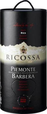 Vang Ý Ricossa Piemonte Barbera DOC (bịch 3L)