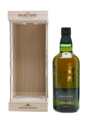 Whisky Nhật Hakushu 18 Years old Limited Edition