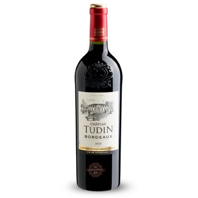 Rượu vang Pháp Chateau Tudin Bordeaux Merlot – Cabernet