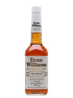 Whisky Mỹ Evan Williams Bourbon Bottled-In-Bond White Label